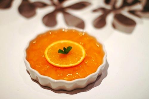Budincă de portocale