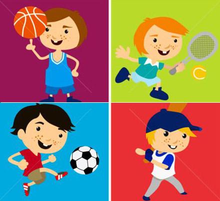 Copiii și sportul