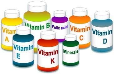 Alfabetul scurt al vitaminelor importante