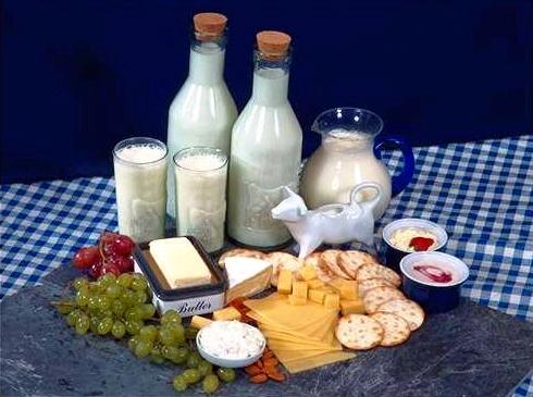 Laptele şi produsele lactate