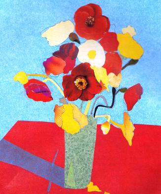 Un colaj floral
