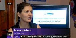 Interviu Doctor ioana Vartosu la Digi 24