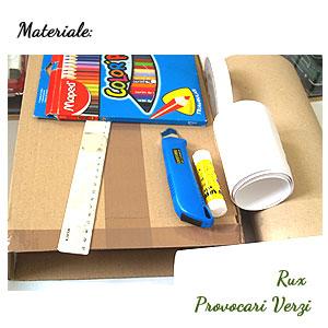 materiale folosite pentru tutorial