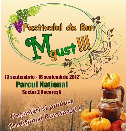 La început de toamnă…Festivalul de bun Must!