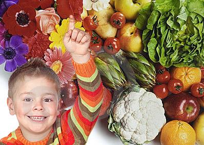 Ghicitorile din grădină (flori, fructe și legume)