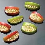 Mancare de Halloween - Dinti de vampir