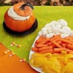 Mancare de Halloween Aperitive din dovleac