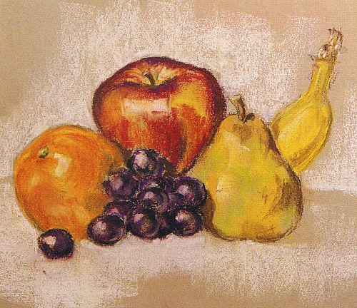 Pastelul: Fructe