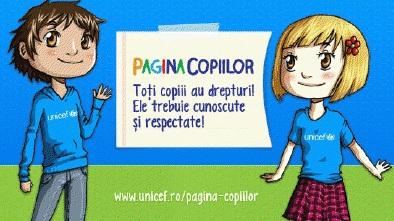 Săptămâna drepturilor copilului – UNICEF