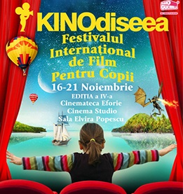 KINOdiseea – Festival (film şi actorie) pentru copii