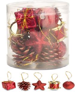 Ornamente pentru impodobit bradul de Craciun