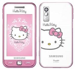 Telefon mobil Hello Kitty de la Samsung
