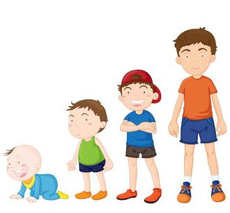 Activităţile copilului de la 0 la 5 ani