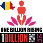 Evenimentul global One Billion Rising Romania impotriva violentei si pentru egalitatea sexelor
