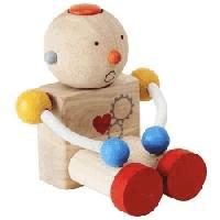 Robotel cu sentimente - jucarie din lemn cu sentiment