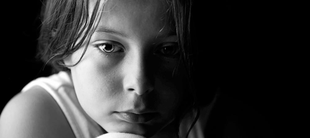 Tristetea copilului