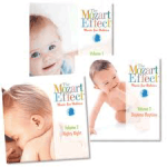 """Colecţia de CD-uri Mozart for Babies"""