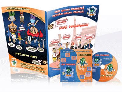 Soft educational limba germana si limba franceza pentru copii prescolari si clasele I-IV