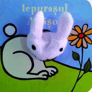 Carte cu jucarie pentru copii - Iepurasul Albisor