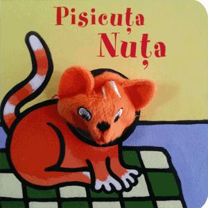 Carte cu jucarie pentru copii - Pisicuta Nuta