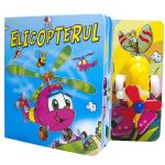 Carte cu jucarie - Elicopterul