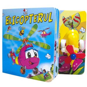 Carti cu jucarii incluse pentru copiii mici