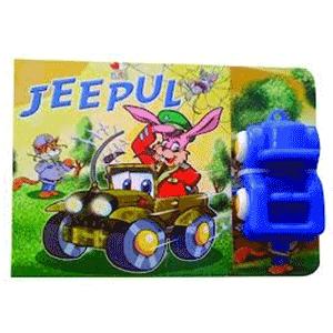 Carte cu jucarie pentru copii - Jeepul