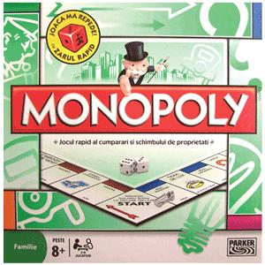 Monopoly original clasic - Schimbul proprietatilor