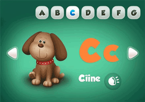 Metode de invatare a literelor: Interpretarea moderna: aplicatia FunABC de la Ejuk