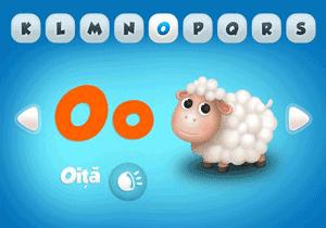 Aplicatia FunABC - Invatarea literelor