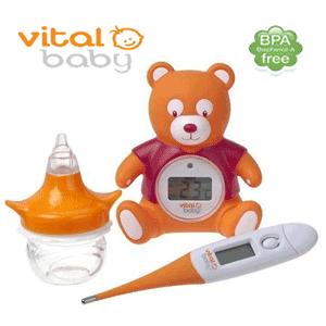 Pachete accesorii puericultura Vital Baby – ingrijirea bebelusului