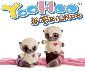 Jucarii si plusuri YooHoo & Friends – Animalutele dragalase pufoase