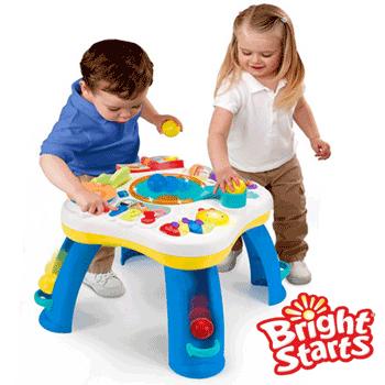 Masuta de joaca interactiva pentru bebelusi 6 luni 3 ani Bright Stars Get Rollin