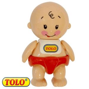 Tolo Toys First Friends: Bebelus Cu Parul Cret