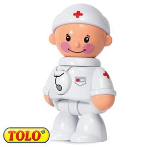 Tolo Toys First Friends: Baietelul Doctor