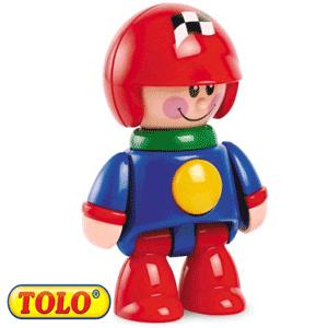 Tolo Toys First Friends: Baietelul Pilot de curse