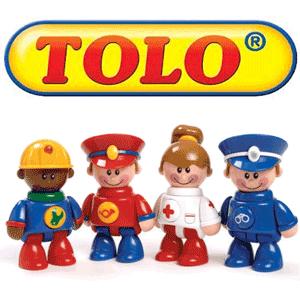 Jucariile Tolo Toys Friends pentru copii de un an