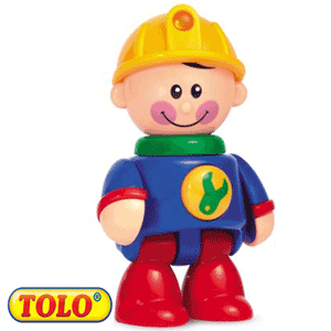 Tolo Toys First Friends: Baietelul constructor