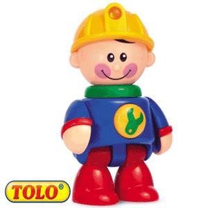 Tolo Toys First Friends: Baietelul constructor