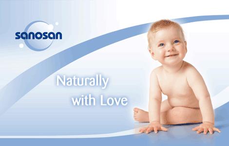 Produse de ingrijire pentru bebelusi si copii Sanosan la cele mai mici preturi online