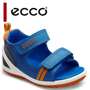 Sandale albastre piele naturala ECCO Biom Lite