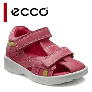 Sandale fetite piele roz ECCO Hide&Seek