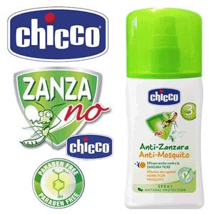 Chicco – Spray protectie Anti-Tantari recomandat Zanza-No – ingrediente naturale