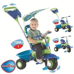 Smart Trike - Tricicleta 3 in 1 Fresh cele mai ieftine triciclete multifunctionale pentru copii 1-3 ani