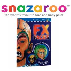 Manual de pictura pe fata FX Faces - Invata face paintingul: desene cu monstrii si personaje fantastice