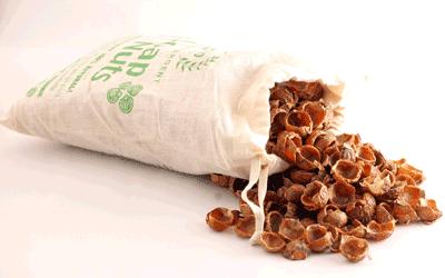 Nucile de sapun pot fi cumparate de la magazinul euBIO