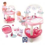 Set de joaca Nursery - Masuta interactiva pentru fetite