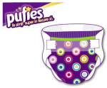 Scutecele colorate Pufies Fashion Collection