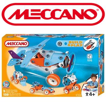Set de constructie Meccano avioane copii 5 si 8 ani