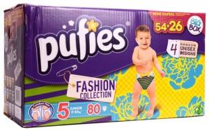 Scutece Pufies Fashion Collection pentru baietei si fetite, modele si variante unisex